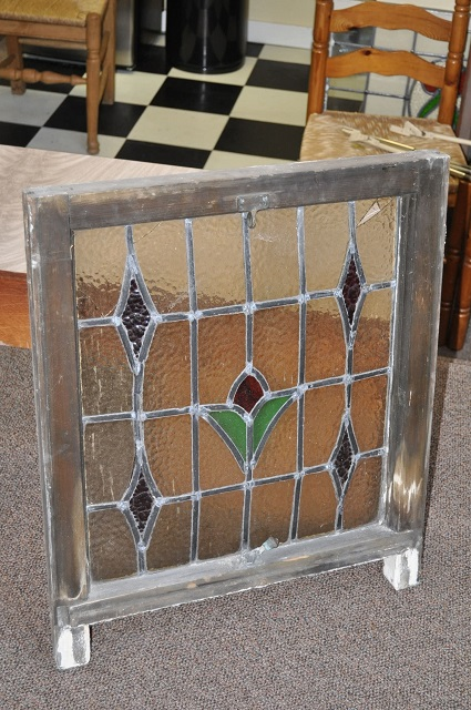 Item # W69 Leaded Stained Glass Window c.1910