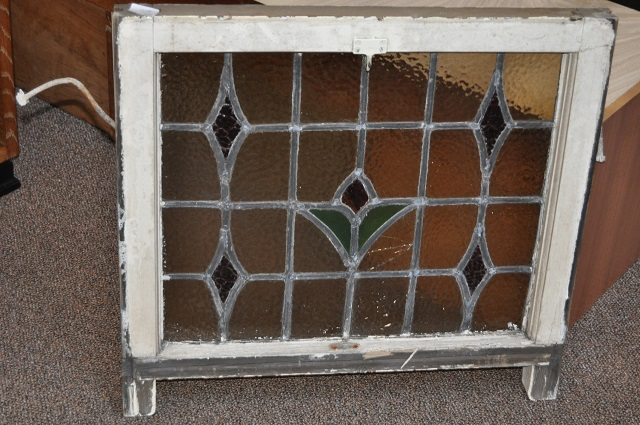 Item # W81 Leaded Stained Glass Window c.1910