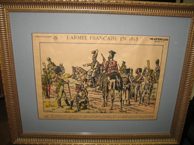 Item # LH1 Antique French Military Cartoon c.1914