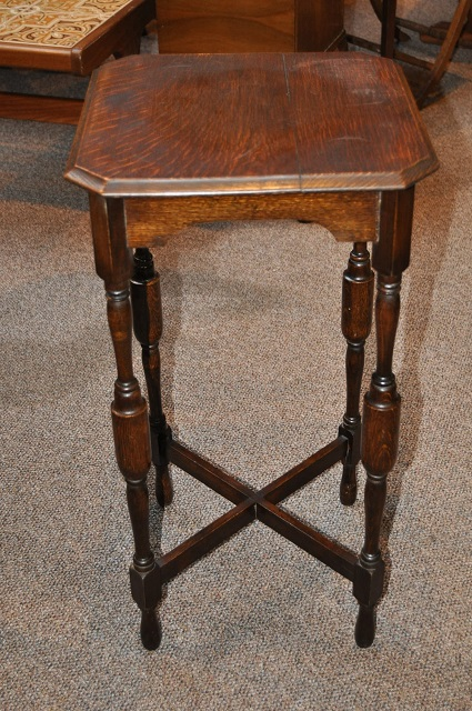 Item #C161 Oak Occasional Table c.1920
