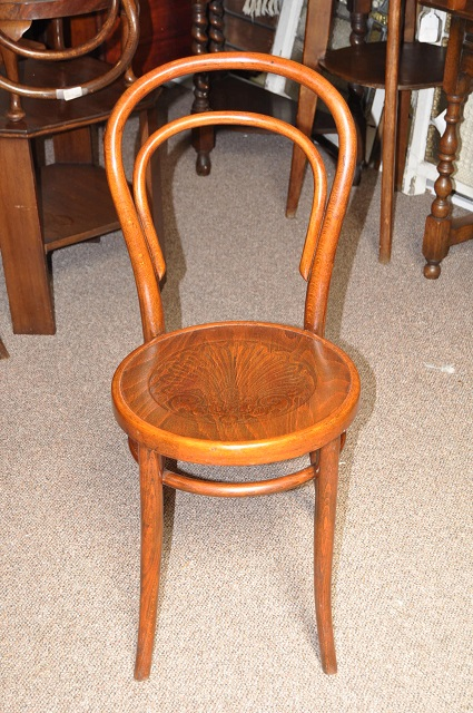 Item #F868 Bentwood Pub Chair c.1960 (THREE AVAILABLE)