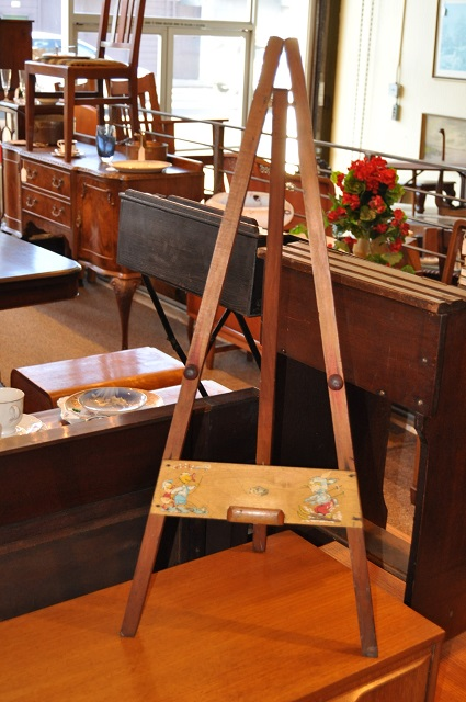 Item #H1236 Vintage Child's Toy Easel c.1920's