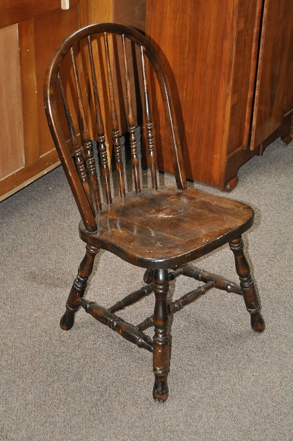 Item #MF12a Rustic Kitchen Chair