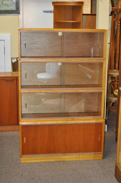 Item #J1254 Vintage Stacking / Sectional Bookcase c.1960s