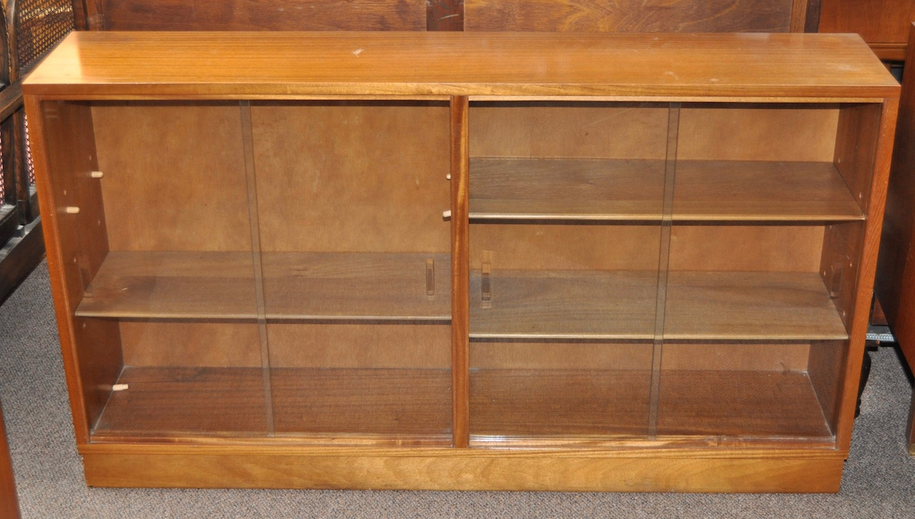 Item #J1477 Danish Teak Bookcase c.1970s