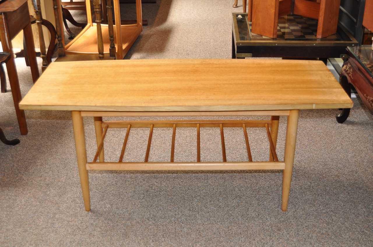 Item #I1276 Vintage Two Tier Coffee Table c.1960s