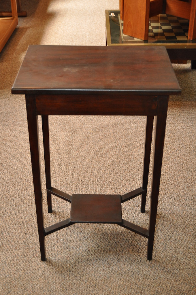 Item #H1286 Mahogany Occasional Table c.1920
