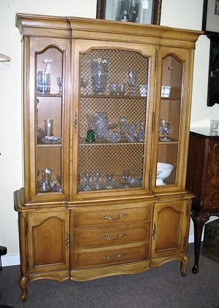 CM1 French Style Display Cabinet  c. 1940's