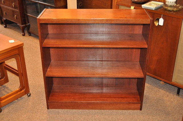 Item #K196 Vintage Rosewood Bookcase w/ Open Shelving c.1960s
