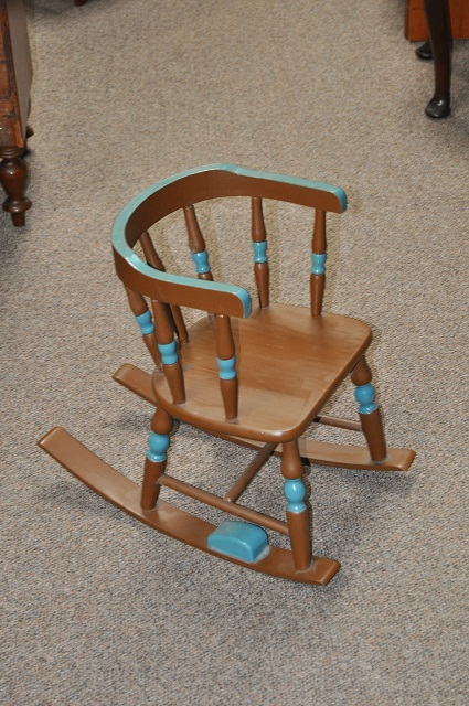 Item #CGN1 Child's Rocking Chair c.1930s