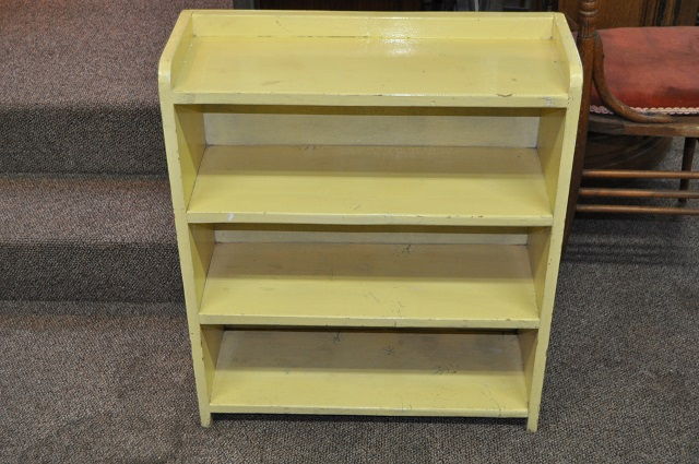 Item #K1868 Painted Open Shelving