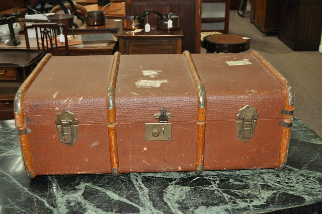Item #K70 Vintage Liner Luggage c.1930s