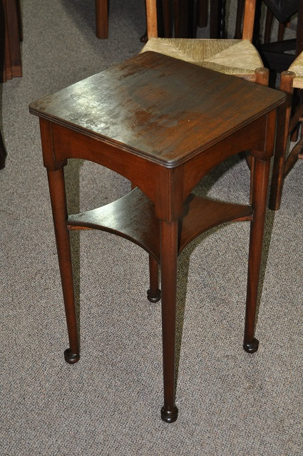 Item #L2074 Mahogany Occasional Table c.1930s
