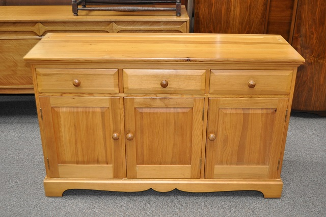 Item #L2145 Scottish Pine Console / Sideboard