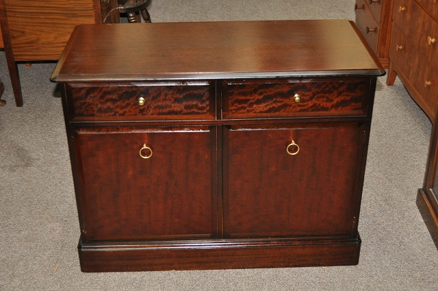 "Item #L2154B Vintage Cabinet by ""Stag"" c.1980"
