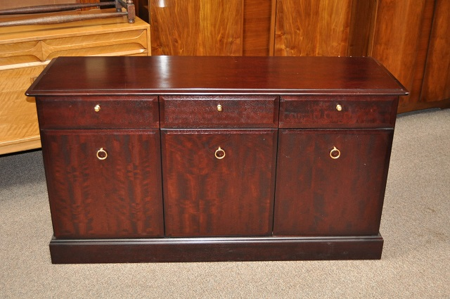 "Item #L2155C Vintage Mahogany Console by ""Stag"" UK Import c.1980"