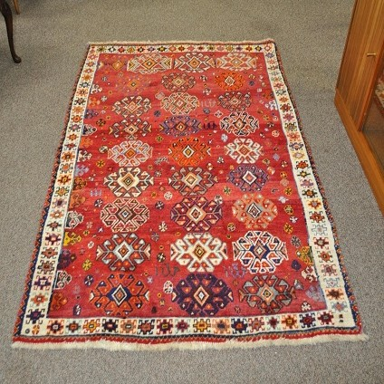 Item #L5190 Beautiful Hand Made Persian Rug c.1950s
