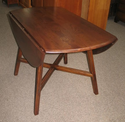 L741 Round Drop Leaf Table. Ercol. c.1940