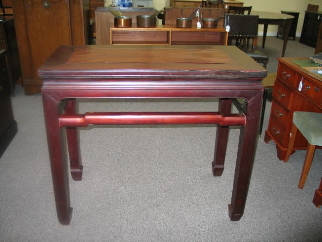 Item #AP8 Asian Rosewood High Table
