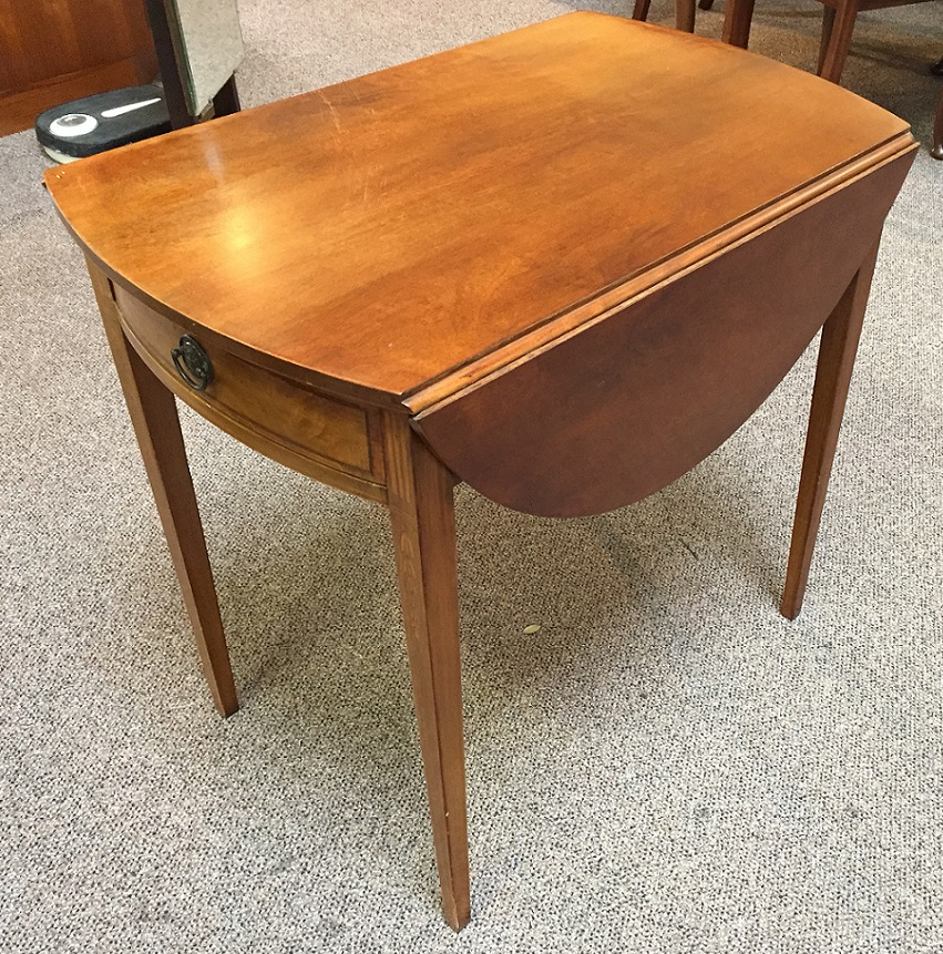 GM7 American Drop Leaf Table with Drawer