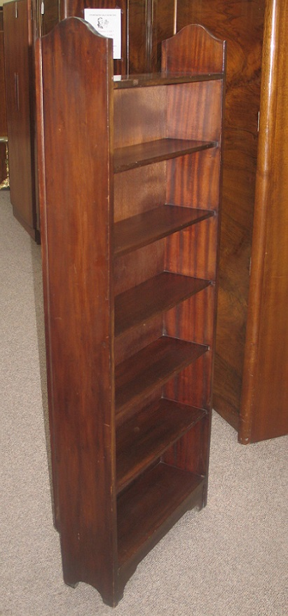 L2136 Mahogany Open Shelves  21″ w x 58″h