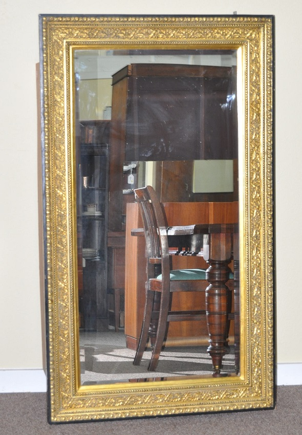 "L36 Gilt Framed Mirror  58 "" x  34″"