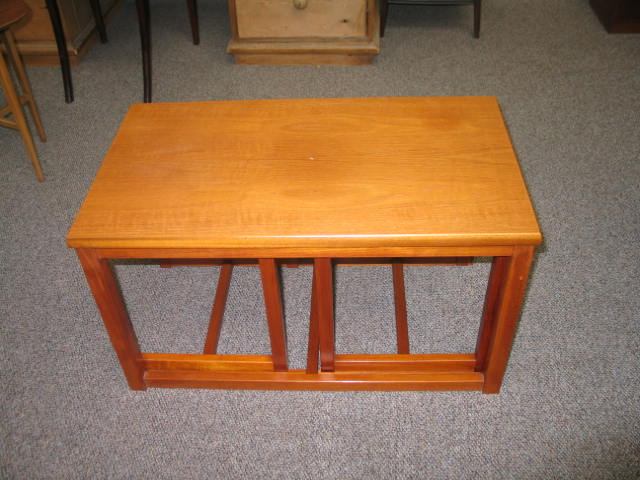 L708 Teak Coffee and Nesting Tables