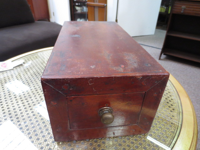F846 Mahogany Filing Drawer Custom made c. 1910