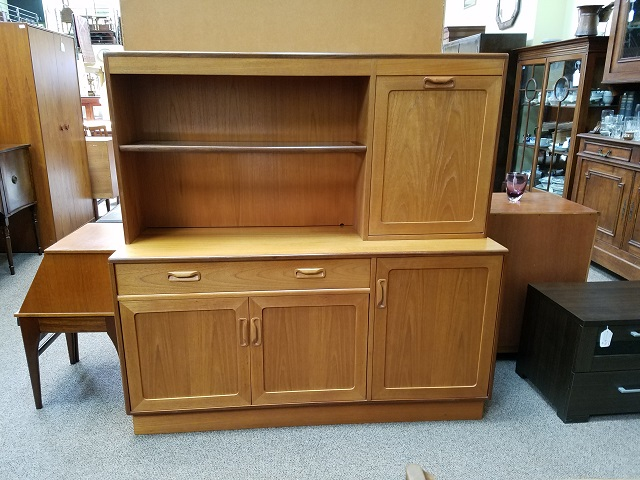 "Item #M276 Vintage ""G-Plan"" Cabinet / Drop Front Bar c.1960s"