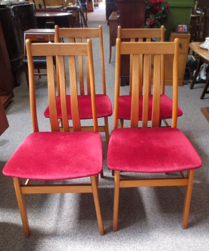 M2240 Four Ercol Chairs c.1960's