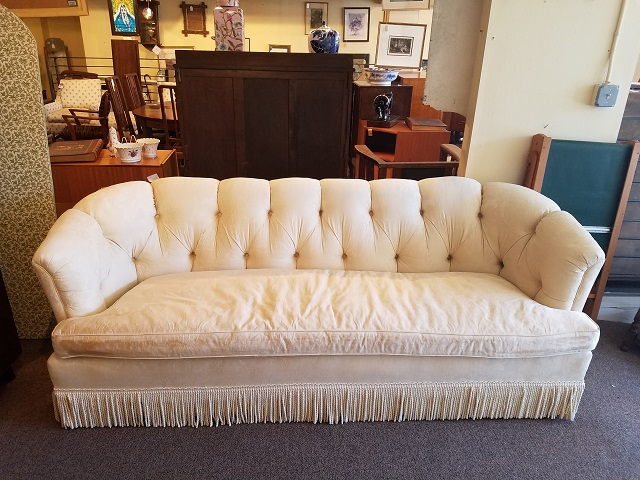 Item #P56 Vintage Upholstered Sofa c.1960s