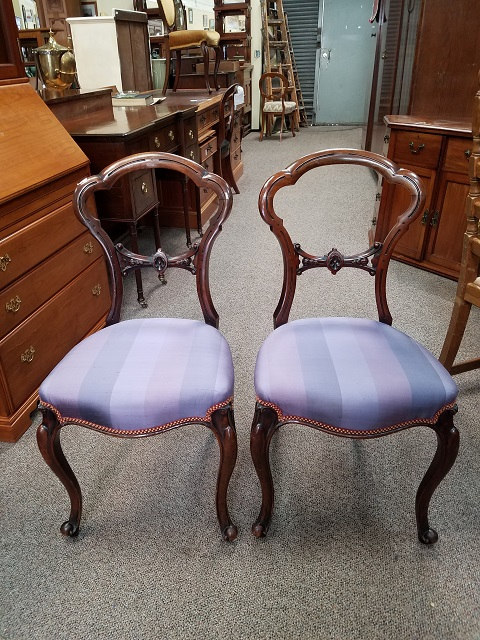 Item #F3601 Pair of French Side Chairs c.1870s