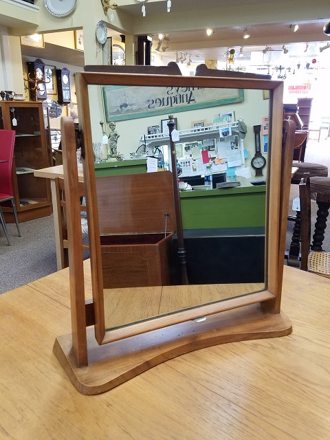 Item #F1770 Free Standing Table Mirror c.1950s
