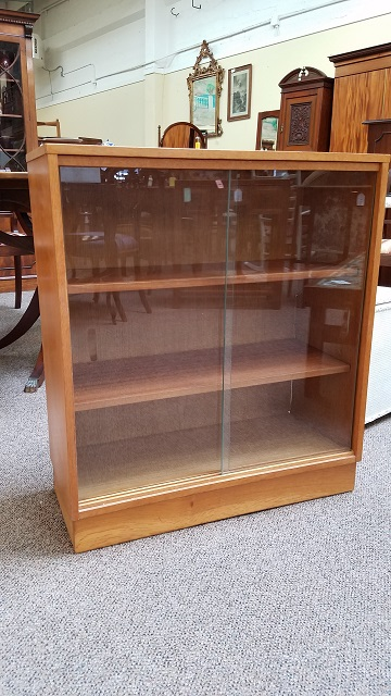 Item #F2993 Vintage Bookcase w/ Adjustable Shelves c.1970