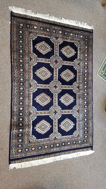 "Item #F33 Hand Knotted ""Mehreen"" Pakistan Rug"