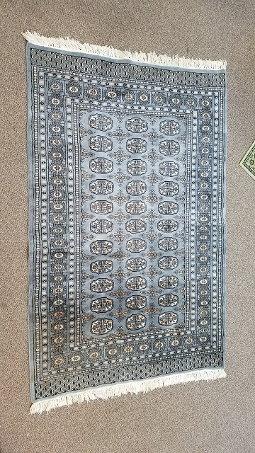 Item #F873 Pakistan Hand Knotted Rug