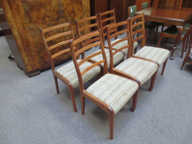 N2448 Teak G- Plan Chair Set