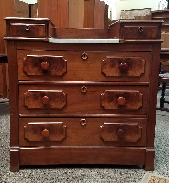 Item #JW1 Antique Victorian Chest of Drawers c.1890s