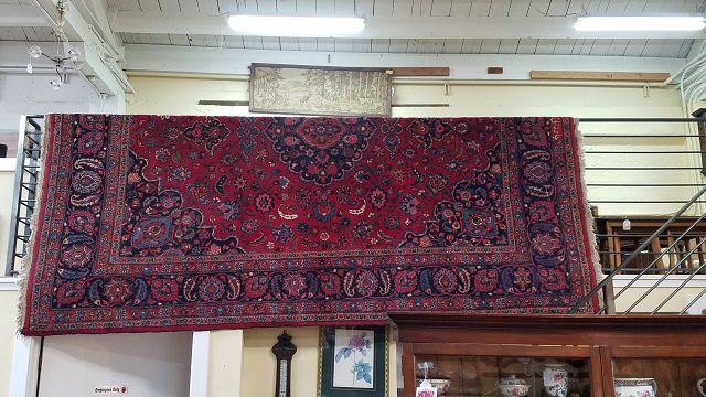 MD1 Hand Knotted Rug w/ Natural Dyes c.1920