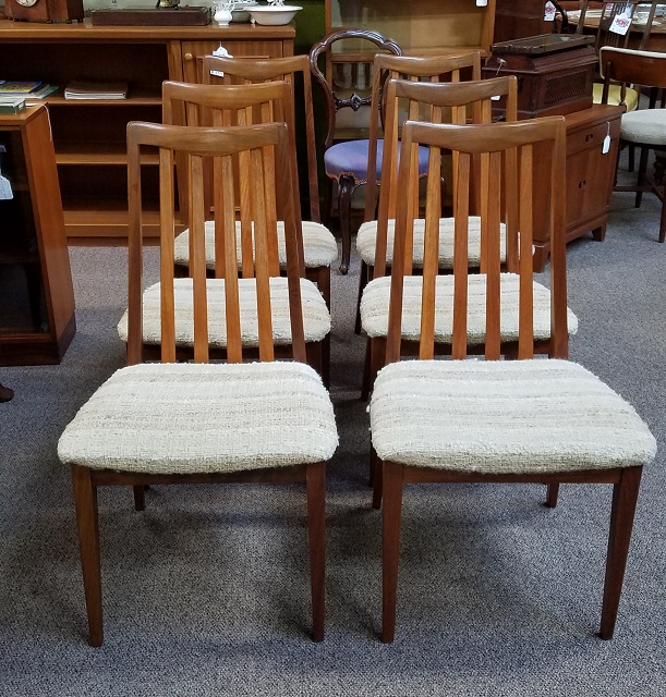 "Item #N17 Six Vintage ""G-Plan"" Dining Chairs c.1960s"