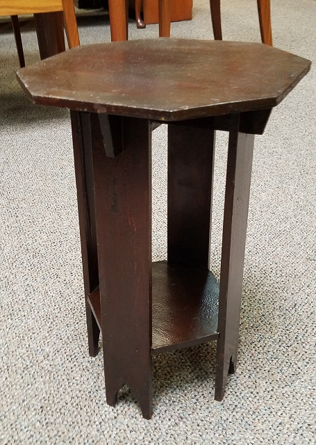 Item #N49 Occasional Arts U0026 Crafts Side Table / Plant Stand C.1920s
