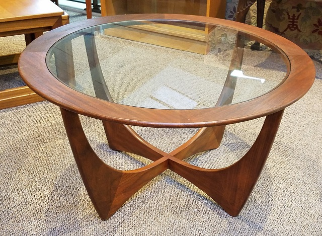 "Item #N86 Vintage ""G-Plan"" Afrormosia Astro Coffee Table c.1960s"