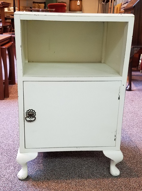 Item #N2221 Painted Cabinet / Nighstand c.1940s
