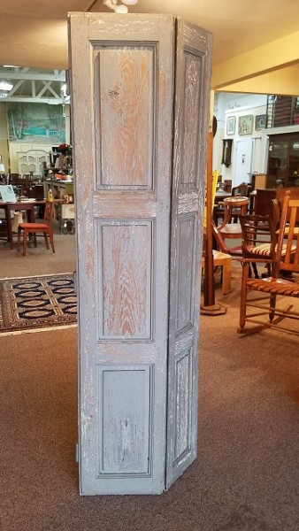Item #ST5 Antique French Door Panels / Room Divider c.1900